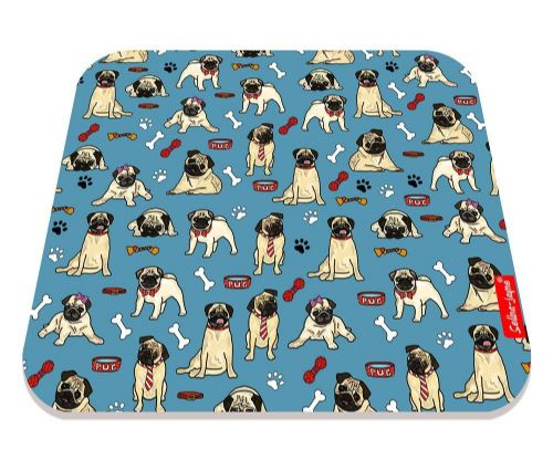 Selina-Jayne Pug Dog Limited Edition Designer Mouse Mat